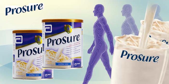 Thành phần chất đạm của Sữa Prosure là nguyên liệu cơ bản để giúp cung cấp năng lượng cho cơ thể