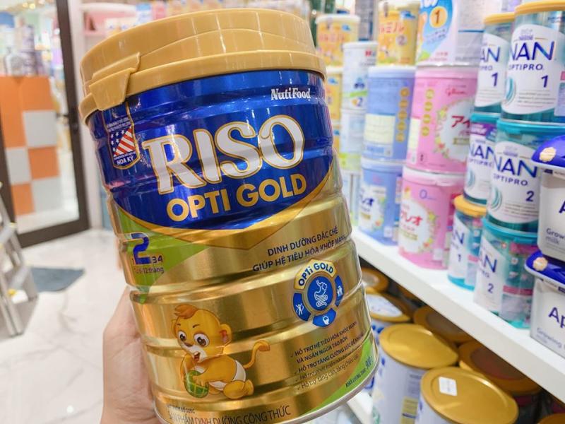 Sữa Riso Opti Gold