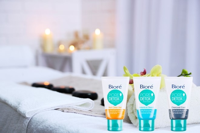 Bioré Pore Detox Hot Clear Gel
