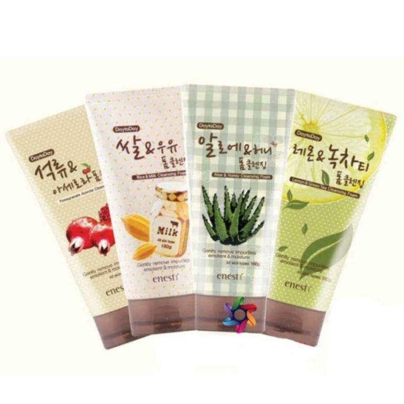 Tổng hợp các loại sữa rửa mặt Enesti Suanbo Spa.