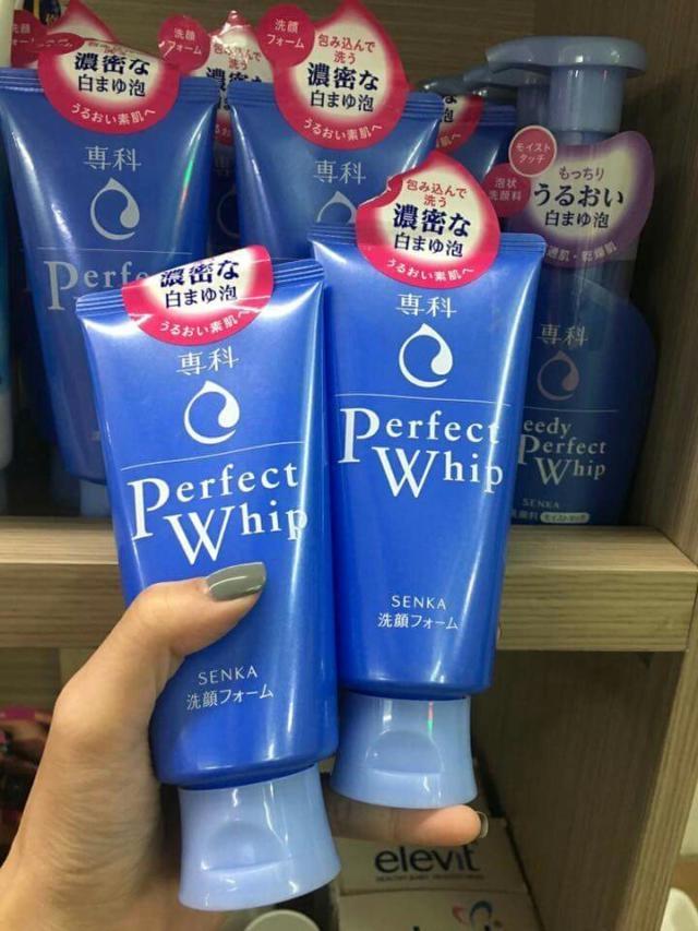 Sữa rửa mặt Senka Perfect Whip đã có mặt trên thị trường Việt Nam. Hãy thử và cảm nhận điều tuyệt vời mà nó mang lại.