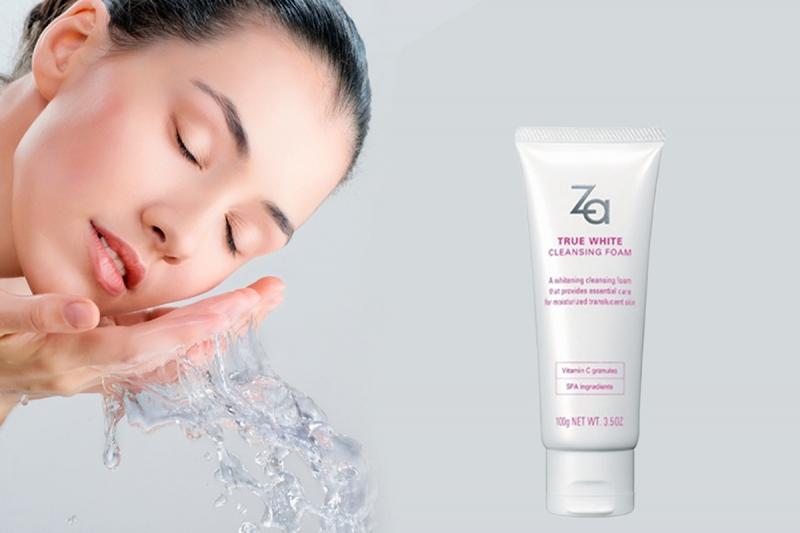 Hãy để sữa rửa mặt Za True White ExCleansing Foam thấu hiểu làn da của bạn.