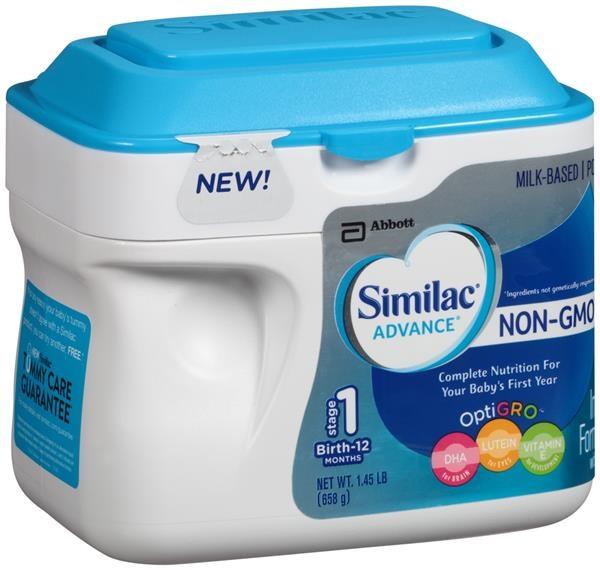 Sữa Similac Advance NON GMO của Mỹ