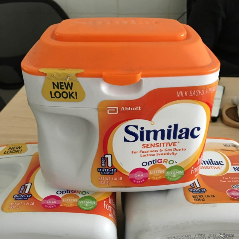 Sữa Similac Sensitive