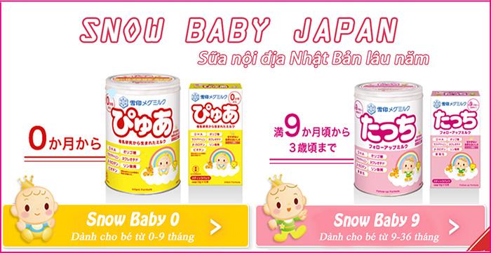Sữa Snow Baby Nhật