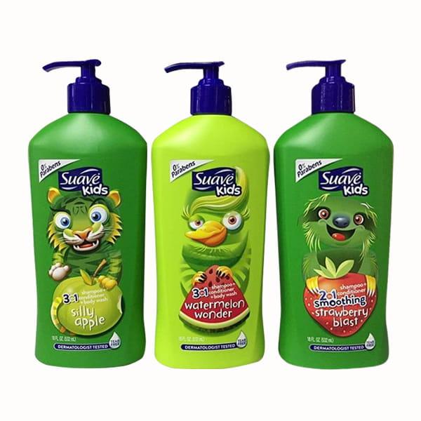 Sữa tắm cho bé Suave Kids 3in1
