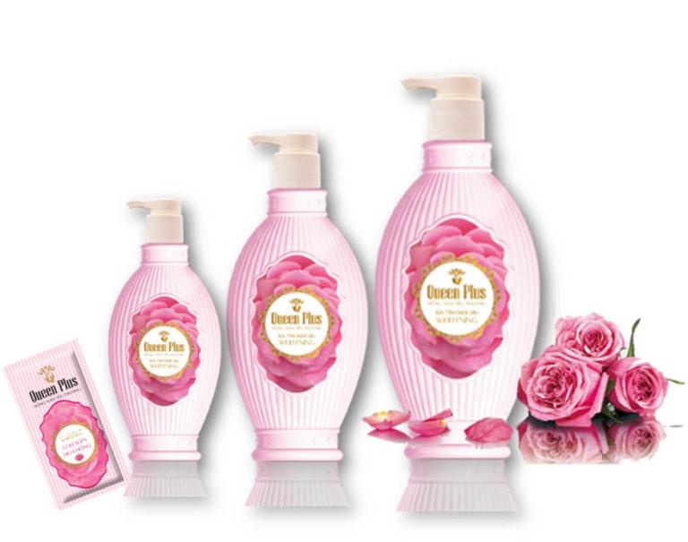 Sữa tắm dược liệu collagen hoa hồng Organic Plus