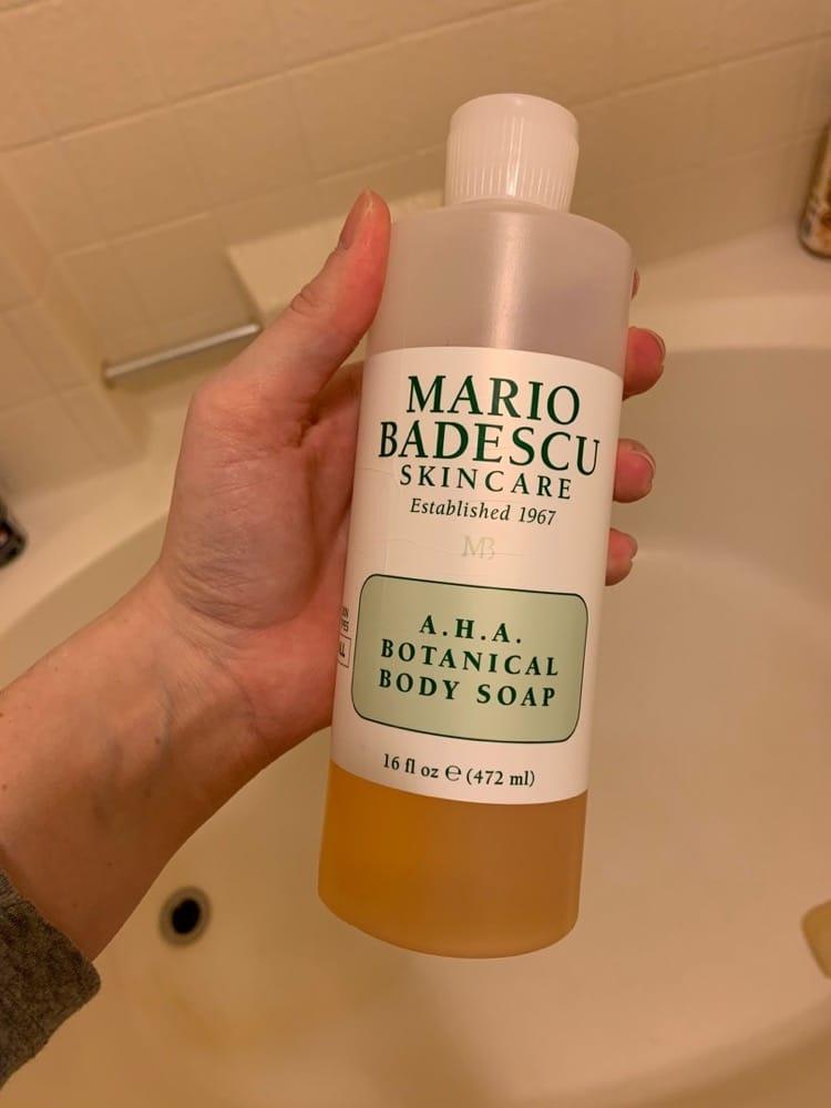 Sữa tắm giảm mụn Mario Badescu A.H.A Botanical Body Soap