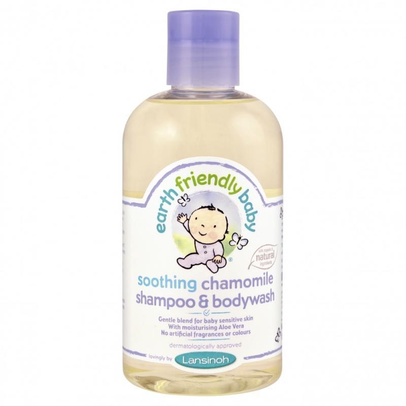 Sữa tắm gội Earth Friendly Baby organic hữu cơ