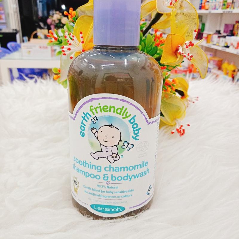 Sữa tắm gội Earth Friendly Baby organic hữu c