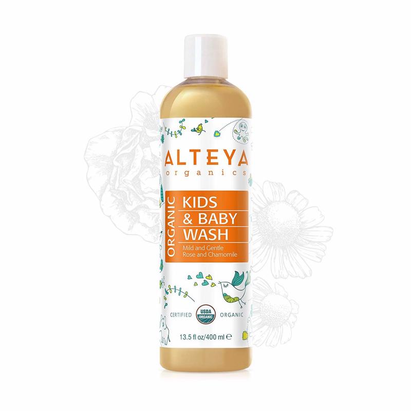 Sữa Tắm Gội Trẻ Em Hữu Cơ Alteya Organics