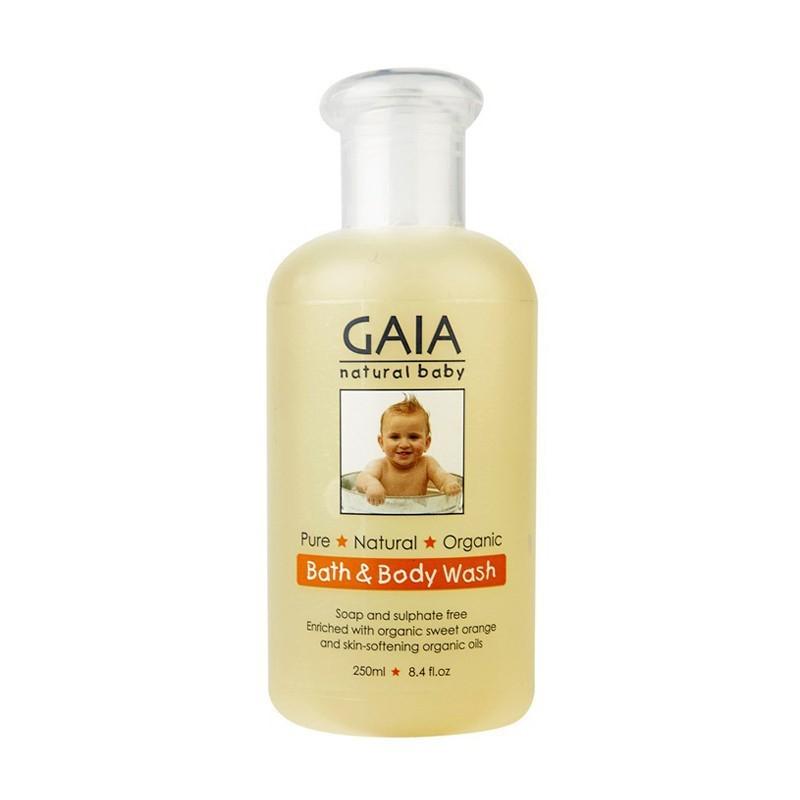 Sữa tắm cho bé Gaia Natural Baby Bath & Body Wash