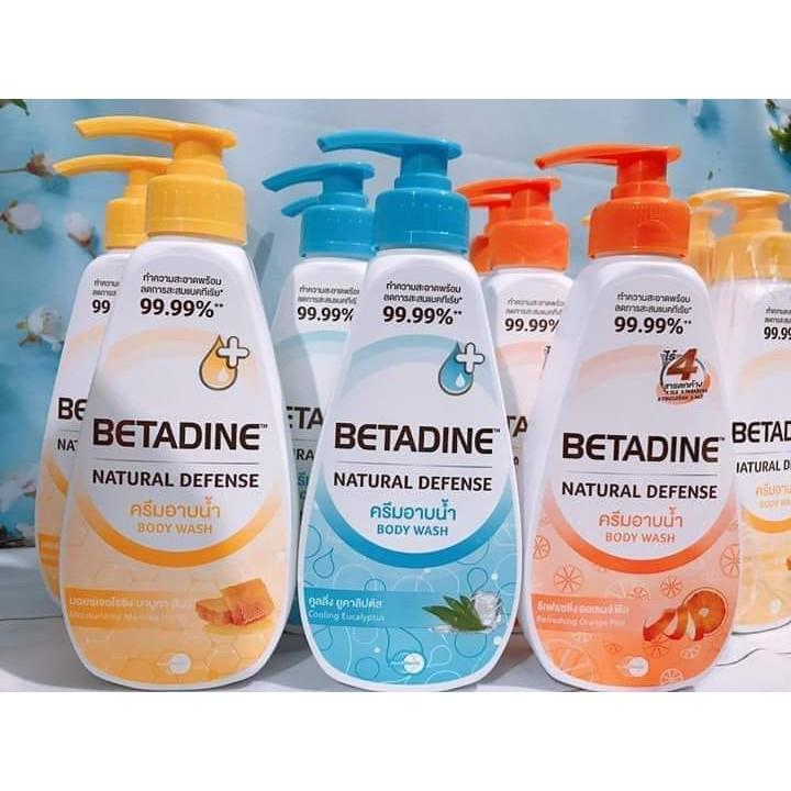 Sữa tắm kháng khuẩn Betadine