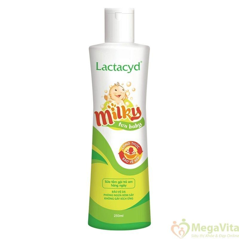 Loại sữa tắm này khá phổ biến và hợp túi tiền đa số các gia đình trẻ