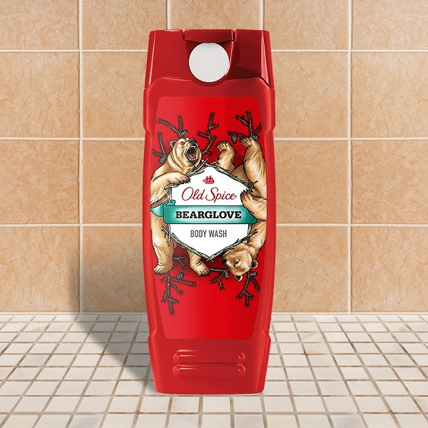 Sữa tắm Old Spice Bearglove tẩy sạch nhẹ nhàng