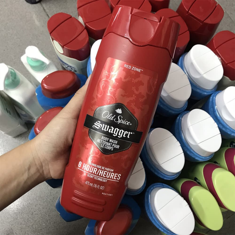 Sữa tắm nam Old Spice Swagger Body Wash 473ml Mỹ