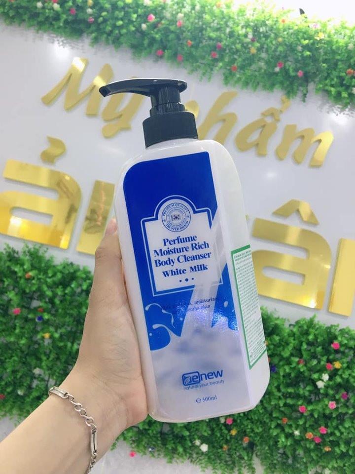 Sữa tắm nước hoa trắng da Hàn Quốc Benew Perfume Body Cleanser