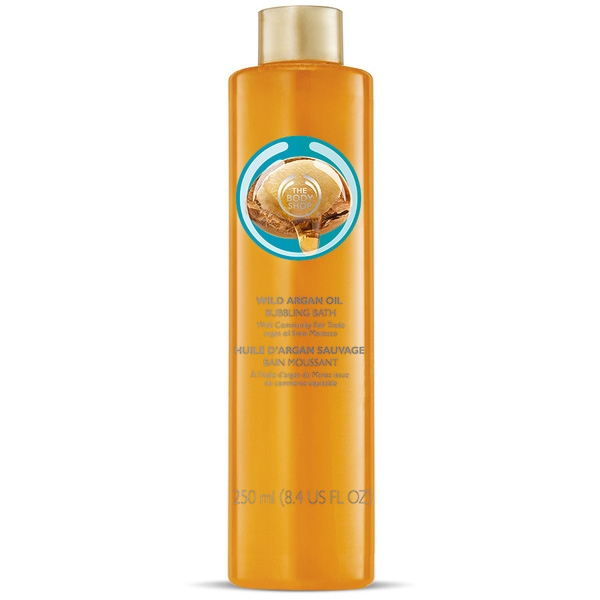 Sữa tắm The Body Shop Wild Argan Oil Bubbling Bath