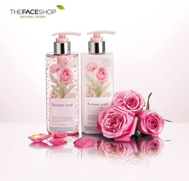 Sữa tắm The Face Shop Perfume Seed White Peony Body Gel Douche