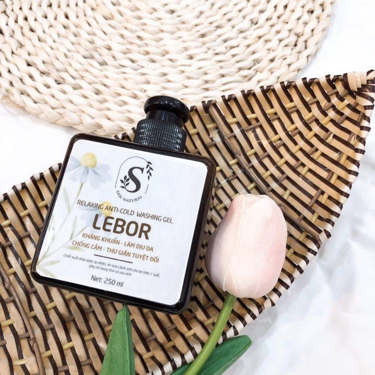 Sữa tắm thư giản chống cảm Lebor