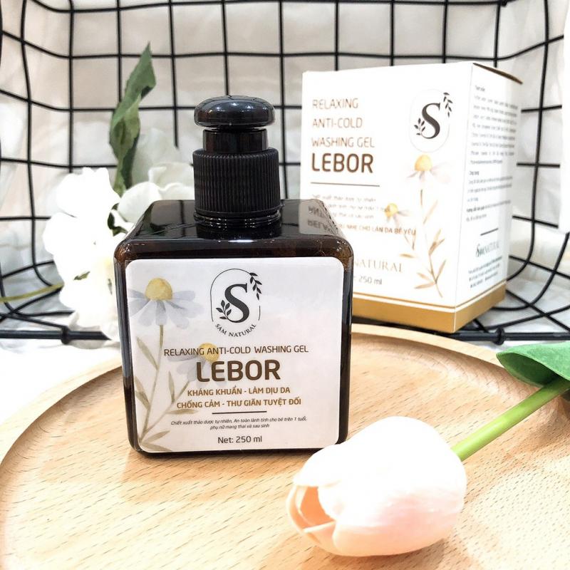 Sữa tắm thư giãn chống cảm Lebor Sam Natural