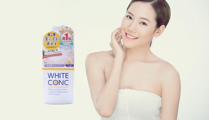 Sữa Tắm Trắng Da White Conc Body Nhật Bản