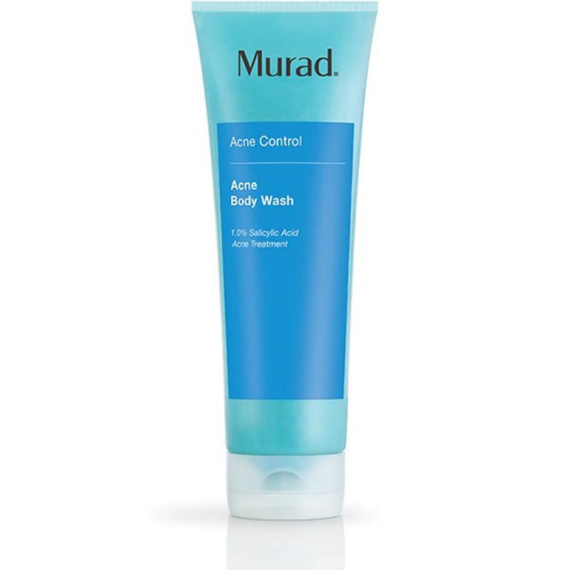 Sữa tắm tẩy da chết, giảm mụn cơ thể Murad Acne Body Wash