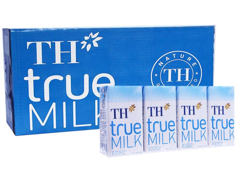 Sữa TH True Milk ít đường
