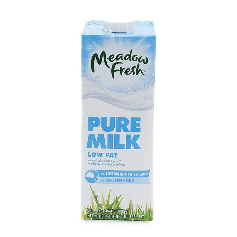 Sữa tươi tiệt trùng ít béo Meadow Fresh hộp 1L