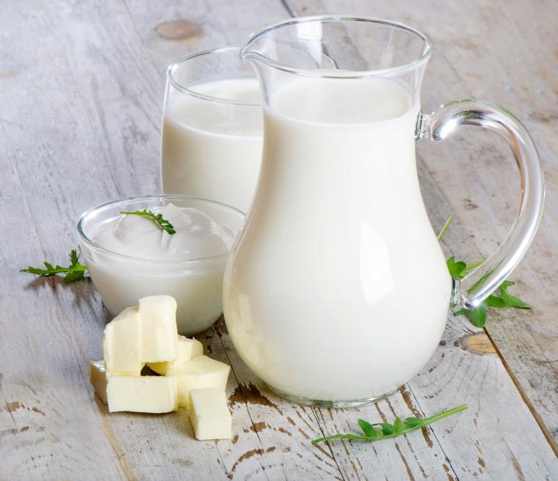 Sữa- Nguồn thực phẩm giàu protein và chất béo.