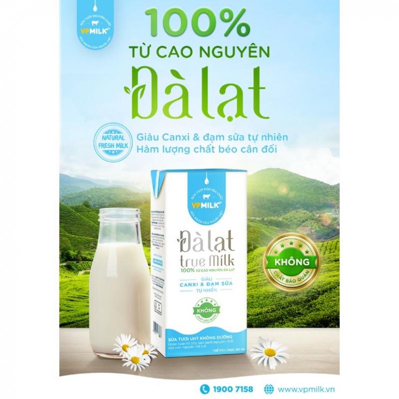 Sữa tươi Đà Lạt True Milk