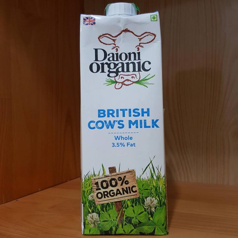 Sữa tươi nguyên kem Daioni Organic