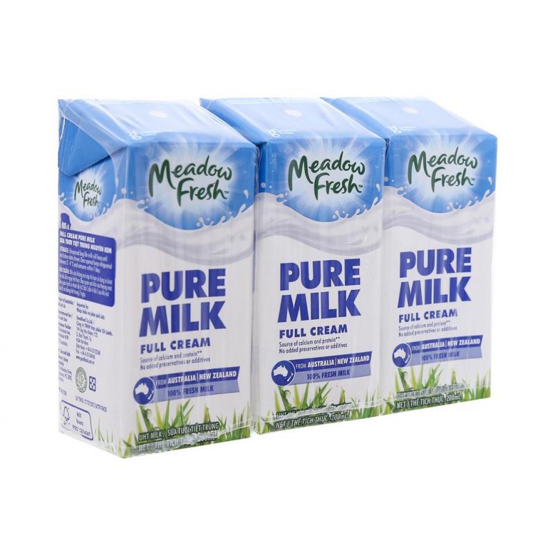 Sữa tươi nguyên kem 100% Meadow Fresh