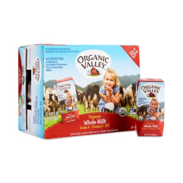 Sữa tươi nguyên kem Organic Valley