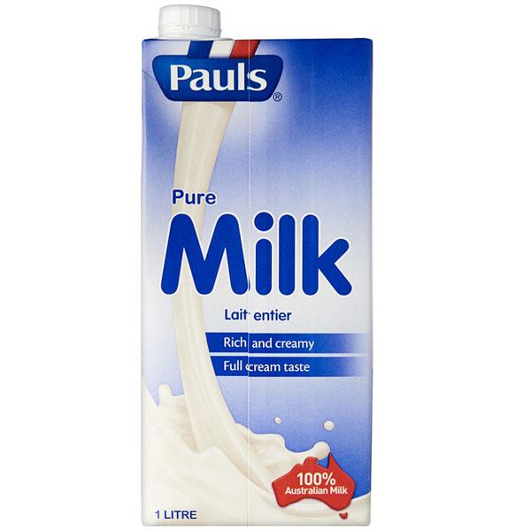 Sữa tươi nguyên kem Pauls