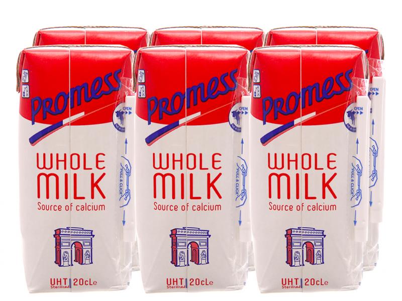 Sữa tươi tiệt trùng nguyên kem Promess