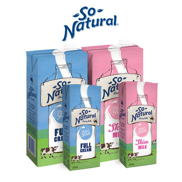 Sữa tươi tách béo So Natura