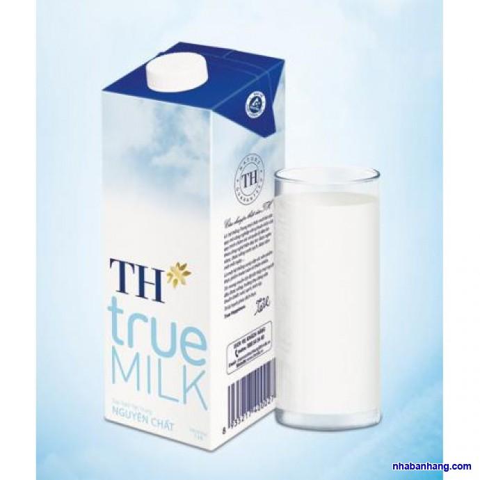 Sữa Tươi Tiệt Trùng Th True Milk Hộp 1 Lít