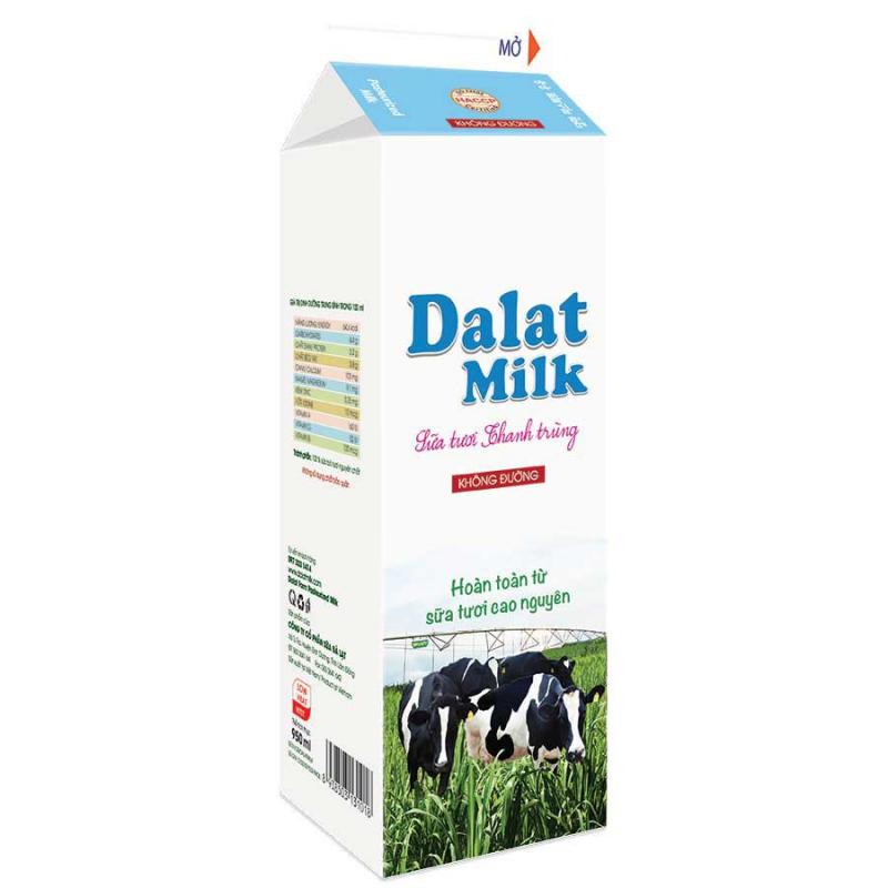 Sữa tươi thanh trùng Dalatmilk