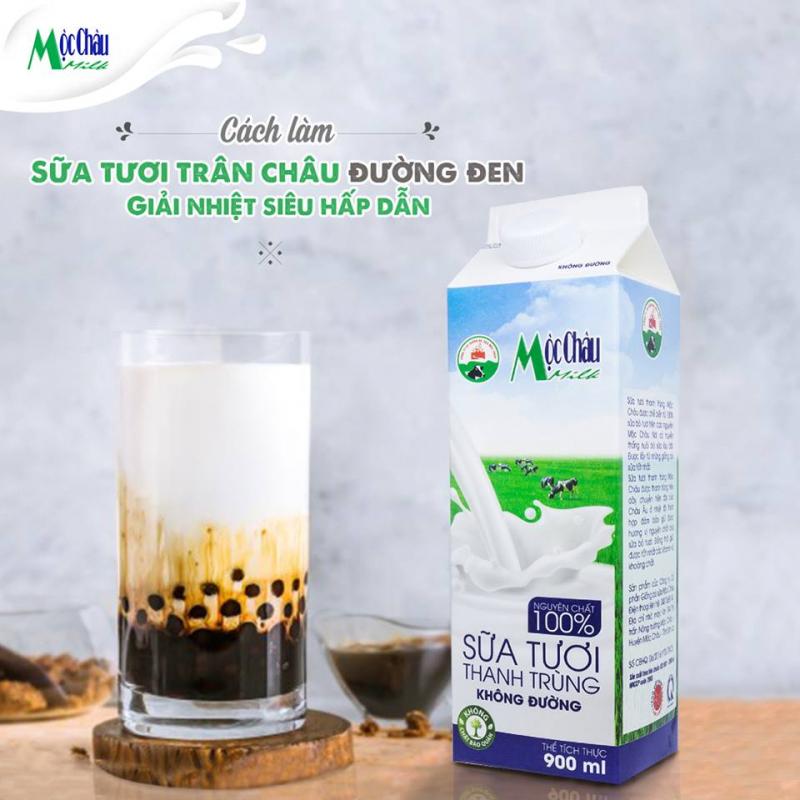 Sữa tươi thanh trùng Mộc Châu Milk