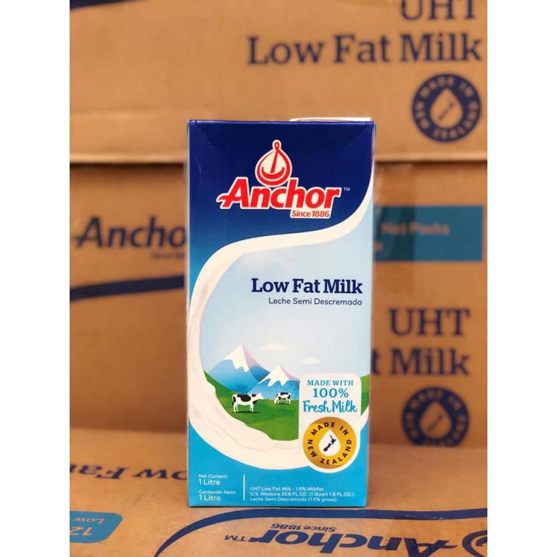 Sữa tươi tiệt trùng Anchor ít béo 1L