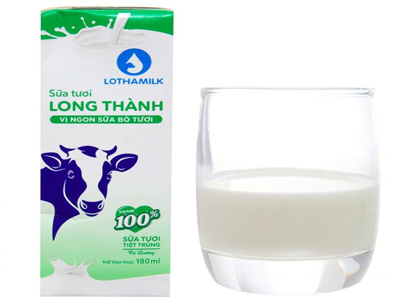 Sữa tươi tiệt trùng Lothamilk