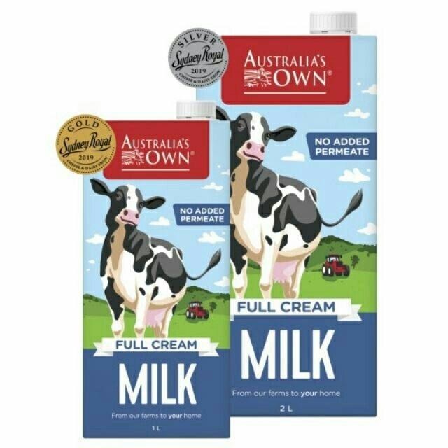 Sữa tươi tiệt trùng nguyên kem Australia's Own
