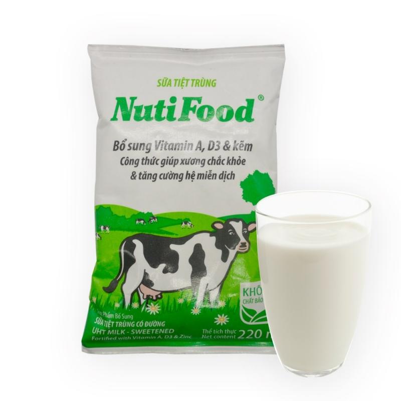 Sữa tươi tiệt trùng NutiFood.
