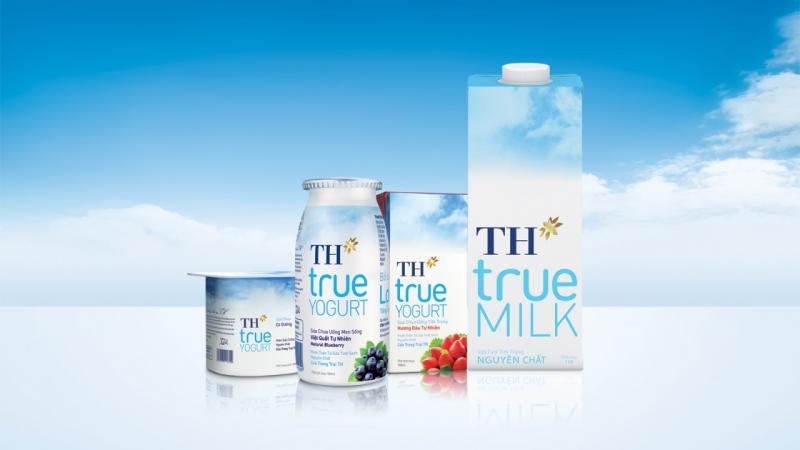 Sữa tươi tiệt trùng TH True Milk.
