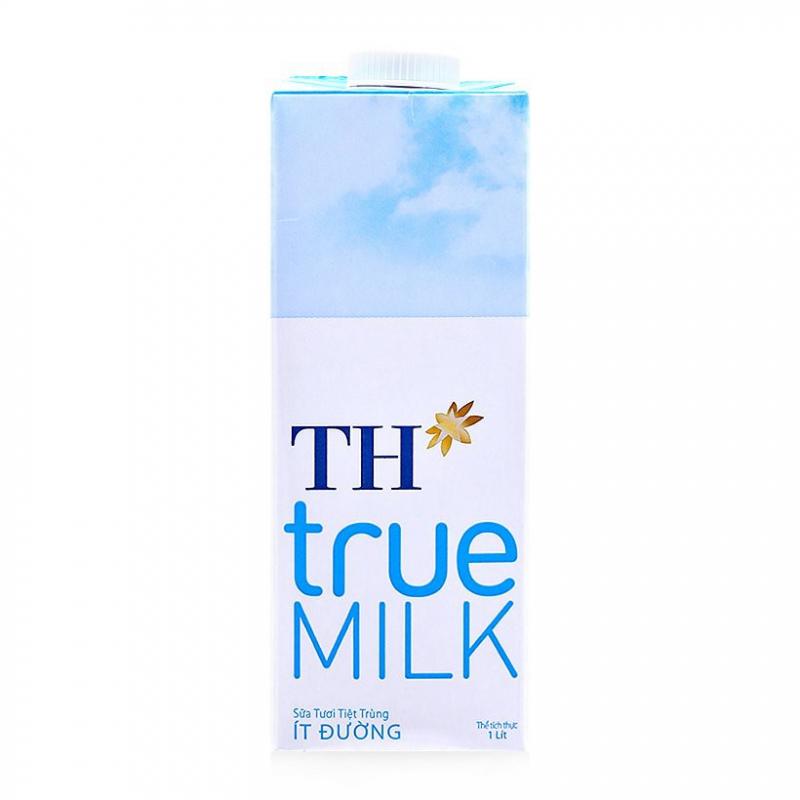 Sữa tươi tiệt trùng TH True Milk ít đường