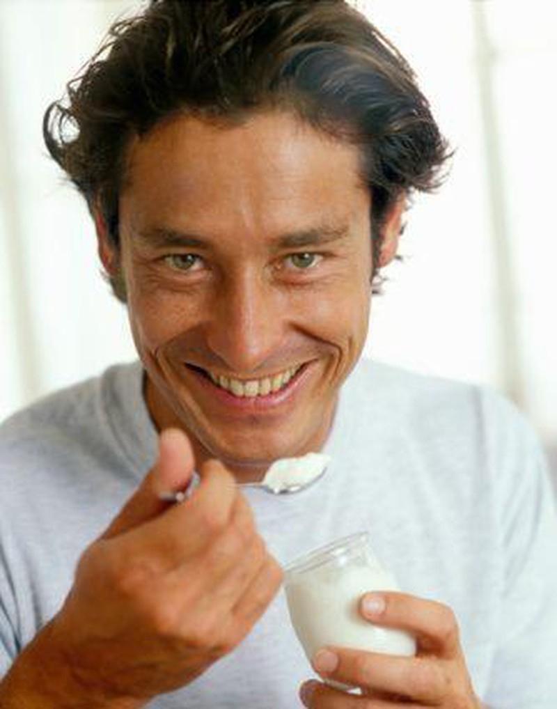 Sữa và sữa chua tăng cường thể lực cho nam giới