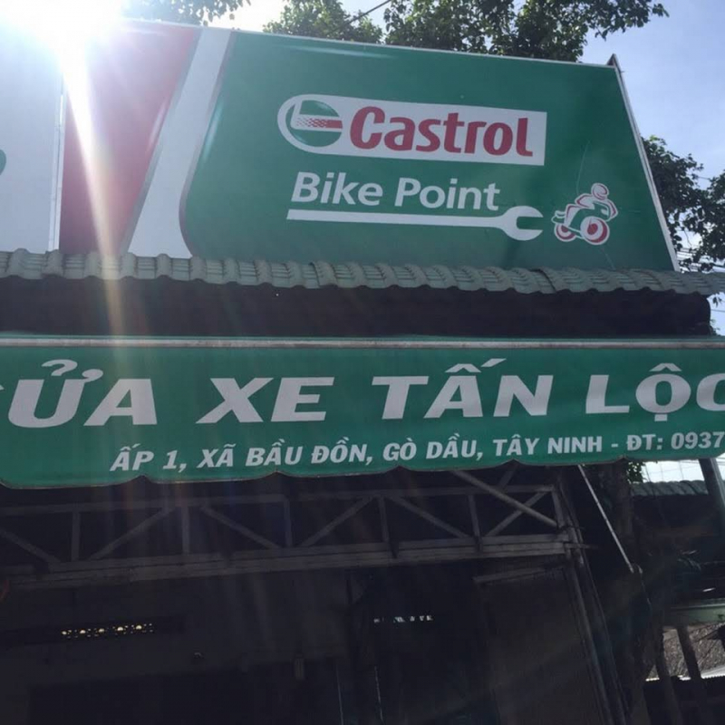 Sửa xe chuyên nghiêp Tấn Lộc