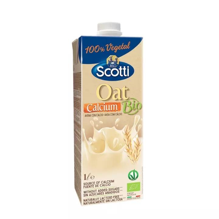 Sữa yến mạch hữu cơ Canxi Riso Scotti