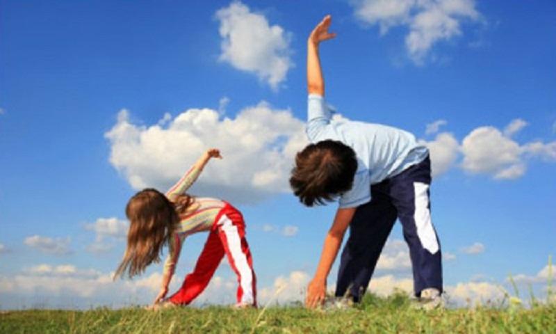 Thể dục thể thao nâng cao sức khỏe.
